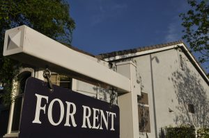 For Rent Sign for a Rental property